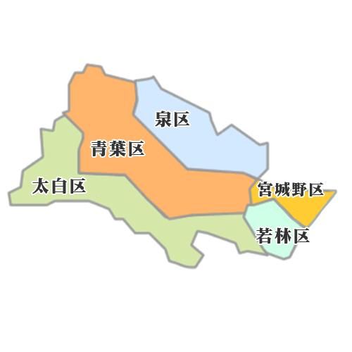 仙台市 地図